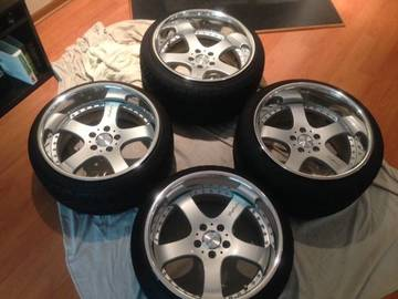 Selling: Riverside Trafficstar DTS Wheels 5x114 18x10 18x11