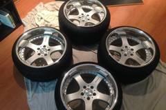 Selling: Riverside Trafficstar DTS Wheels 5x114 18x10 18x11