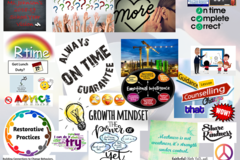 Book & Pay Online (per party package rental): Vision Board Party for 15