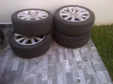 "Selling: VW LE MANS 17"" set w tires"