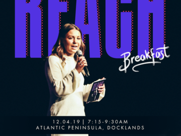 Selling : The Reach Foundation Annual Breakfast