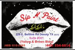 Book & Pay Online (per party package rental): GiGi's Paint Parties