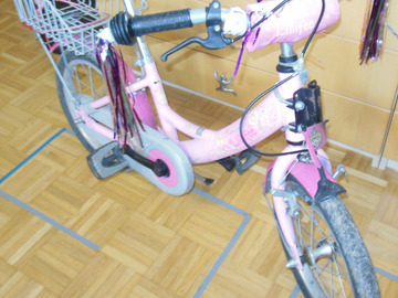 Myydään: PUKY Kids Bicycle Lillifee with trailer coupling (follow-me)