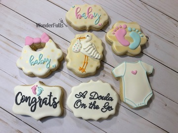 Book & Pay Online (per party package rental): Custom cookies for any occassion