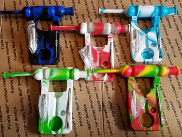 Buy Now: (50) 14mm Silicone nectar collector set