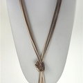 "Buy Now: 36-- ""EXPRESS"" Snake Chain Tassel  Necklace- Gold- $2.75 each"