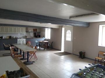 Location par jour: Gîte F7 - Sainte Colombe (100m²)