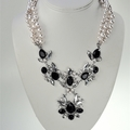 "Buy Now: 36- RSVP Rhinestone Necklace 20""- $1080.00 retail;  $2.75 pcs"