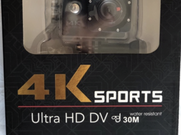 Make An Offer: 4k Action Cameras with Waterproof Case
