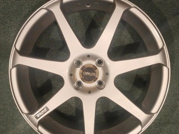 "Selling: 18""x9"" Set of 4 Konig Tantrums 4x100 (buyer pays shipping)"