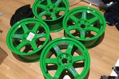 Selling: Volk Racing TE37 17x9+22 TAKATA Green