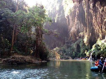 Réserver (avec paiement en ligne): Pays Karen et descente en rivière - Thaïlande