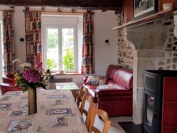 Location par semaine: Maison F4 - St Maurice en cotentin (76m²)