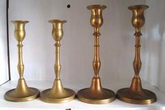 Ilmoitus: Ostetaan vanhoja messinkisiä kynttilänjalkoja