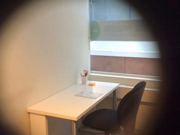 Renting out: Rauhallinen työpiste Oulunkylässä, pöytä+tuoli