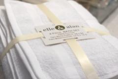 Buy Now: Bath Towel 4pc Sets - 100% Cotton