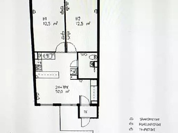 Renting out: A room in a two room (male) family/friends apartment