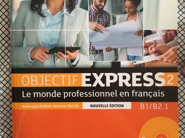 Myydään: French textbook - objectif express 2 français