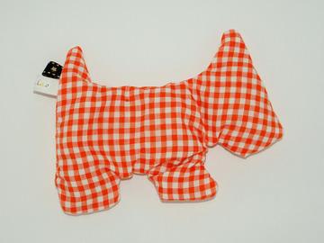 Vente au détail: Bouillotte sèche - Chien vichy - création originale