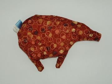 Vente au détail: Bouillotte sèche - Cochon bulles marrons