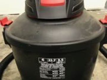 Renting out equipment (w/o operator): Shop Vac wet/dry vacuum