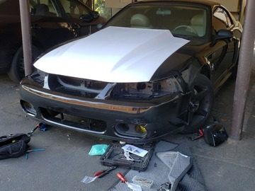 Selling without online payment: 99-04 mustang cowl