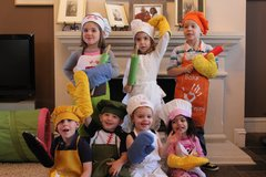 Request To Book & Pay In-Person (hourly/per party package pricing): Lil Chef Party