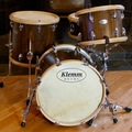 Selling with online payment: Walnut Bebop Drum Set