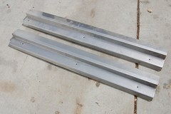 Selling with online payment: 94-04 Mustang Stainless Steel Door Sill Plates