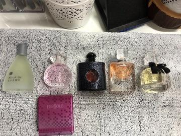 Venta: Pack 5 mini perfumes de marca