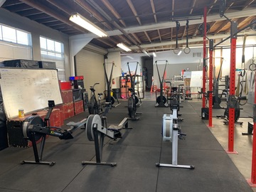 List a Space: Large gym with all of your equipment needs