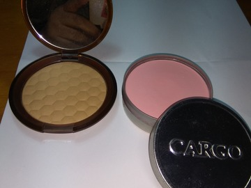 Venta: Lote bronzer the body shop y colorete cargo