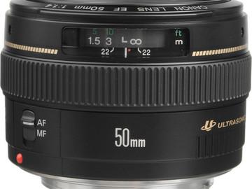 Vermieten: CANON EF 50mm f/1.4