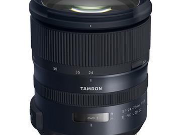 Vermieten: TAMRON SP 24-70mm f/2.8 EF