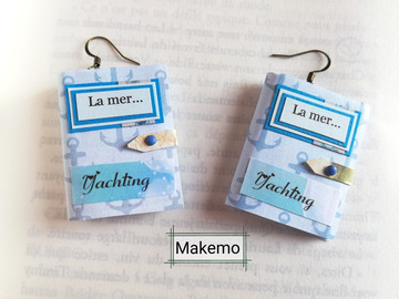 Sale retail: Boucles d'oreilles  'Makemo'