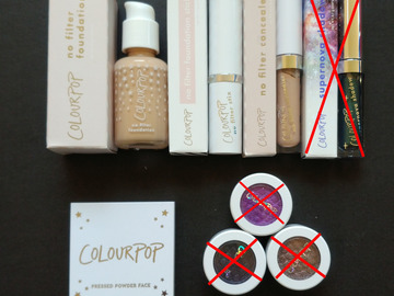 Venta: Productos Colourpop