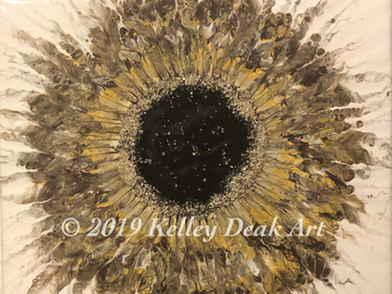 Selling with online payment: Acrylic Eye Paintings