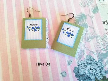 Vente au détail: Boucles d'oreilles 'Hiva Oa'
