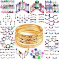 Buy Now: 800-Mix-Body Jewerly, Micron Plated, Gold Finish Bangles/Bracelet