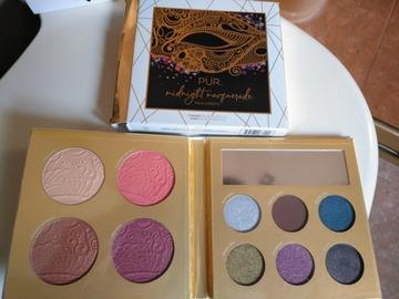Venta: Paleta pür de sombras de ojos,coloretes,bronceador e iluminador
