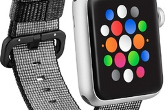 Buy Now: 126 Brand New Black Nylon Apple Watch Bands 38/40mm