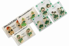 Buy Now: 50 prs-- St. Patrick's Day 2-part Earrings-- $1.99 pr