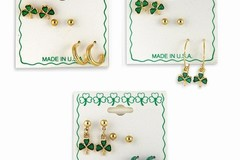 Buy Now: 300 prs--St. Patrick Day Earrings-- $ .33 pr