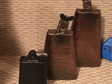 Selling with online payment: LP and Meinl Cowbells- LP Blocks with Brackets