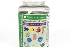 Buy Now: Nature's Dynamics Kids Organic Vegan Gummy Multivitamins, In Date