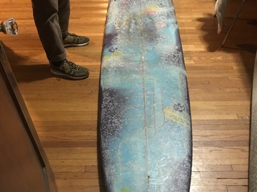 For Rent: 10'1 Single Fin Longboard Noserider