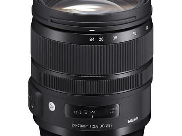 Vermieten: SIGMA EF 24-70mm f/2.8 DG OS HSM