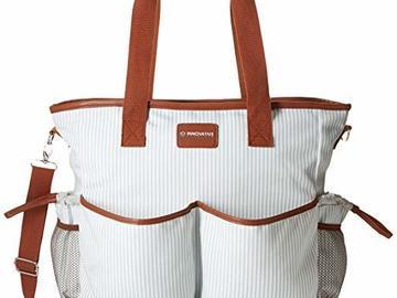 Liquidation Lot: $5/pc! Premium Functional Tote / Diaper bag  - Total MSRP $22,500