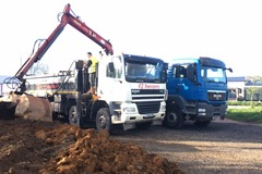 Daily Equipment Rental: 8x4 tippers
