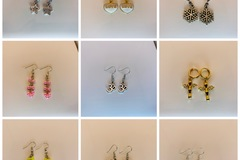 Buy Now: Mix earrings lot 50 pair. Value of up to $500.
